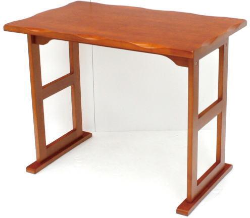 ヤマソロくつろぎテーブル82-718ライトブラウン