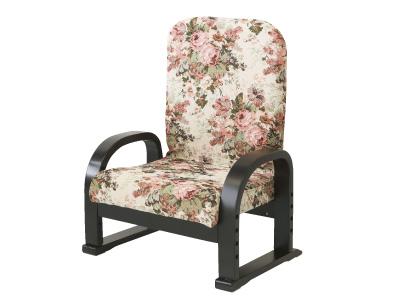 ヤマソロリクライニングTV座椅子83-942フラワー