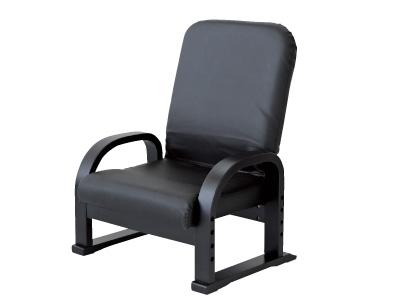 ヤマソロリクライニングTV座椅子83-943ブラック