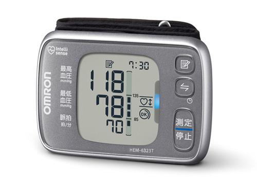 オムロン 手首式血圧計 HEM-6323T OMRON 家庭用血圧計