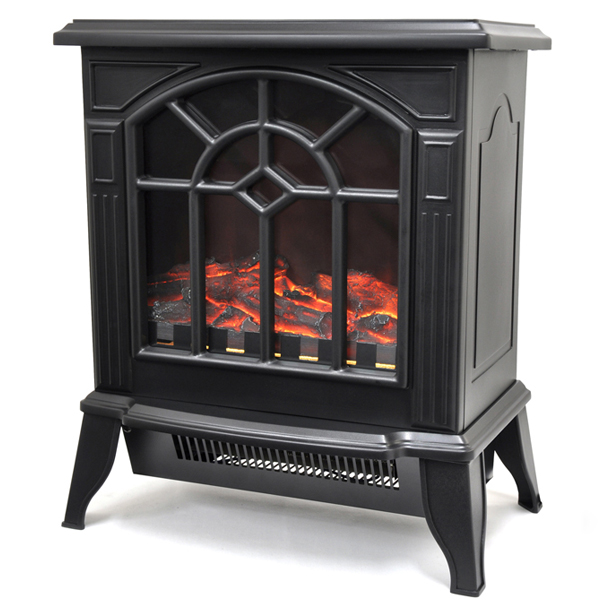 【即納】【1000円お買物クーポン配布中(選択肢参照)】VERSOS(ベルソス) 暖炉型ヒーター ブラック VS-HF3201 擬似炎照明 600W/1200W 送料無料
