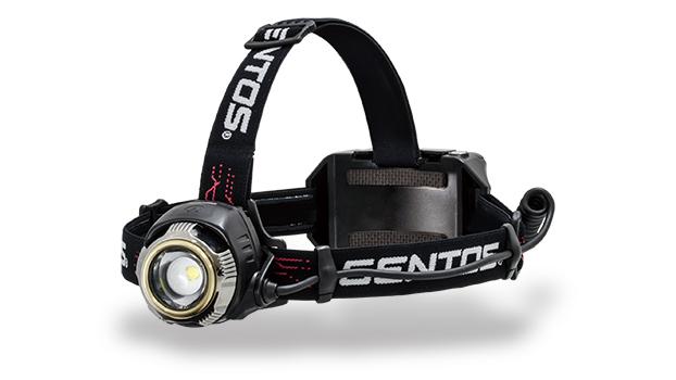 GENTOS(ジェントス) LED ヘッドライト Gシリーズ G GH-100RG USB充電式 【明るさ300-1100ルーメン/実用点灯6-12時間】※専用充電池付き