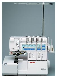 [5年保証] [12色糸セット付] ジャノメ ロックミシン 1200D