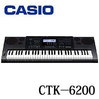CASIO カシオ ハイグレードキーボード《61鍵》 CTK-6200