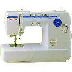 [5年保証][12色糸セット他おまけ付] SINGER(シンガー) 実用電子ミシン MODEL SJ-80EX