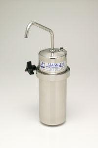 シーガルフォー浄水器 カウンター据置タイプ X-1DS-FPb(D用切替コック付)