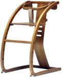 【入荷未定】イーチェアー e-chair ベビーチェア クッション付き ブラウン