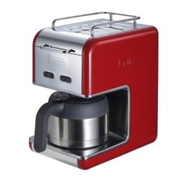 デロンギ CMB5T-RD(レッド) ケーミックス ドリップコーヒーメーカープレミアム