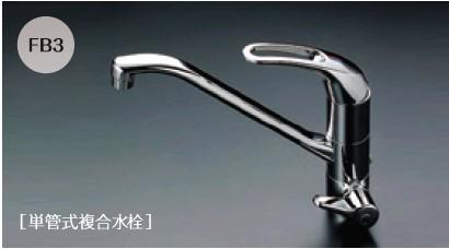 メイスイ ビルトイン浄水器 M-100-FB3(M-100+単管式複合水栓FB3)