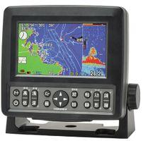 ホンデックス (HONDEX) プロッター魚探 HE-601GPII 5型ワイド液晶 【GPS内蔵仕様・出力300W】