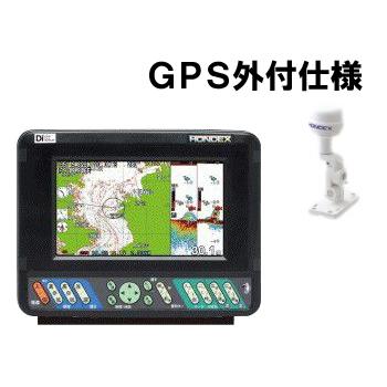プロッター魚探 ホンデックス HE-701GP-Di 《GPS外付仕様》 魚群探知機 GPSアンテナ外付け デジタルモデル カラー液晶 7型ワイド液晶 高輝度LEDバックライト おさかなサイズ表示 Hondex