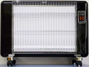 【販売終了】【送料無料】サンラメラ 600W型 0605型 ピアノブラック 遠赤外線輻射式セラミックヒーター