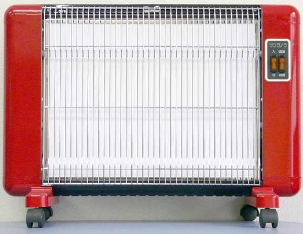 【送料無料】サンラメラ 600W型 0606型 Fレッド 遠赤外線輻射式セラミックヒーター