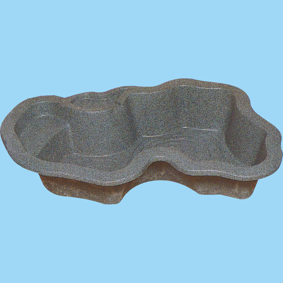 『先振込送料無料』 タカラ工業 L360R 右向き 庭園埋設型 みかげ調プラ池 ◆代引き・時間指定不可