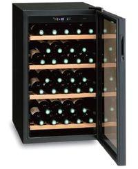 【軒先渡し】三ツ星貿易 ノンフロンワインクーラー MB-6110C ブラック ワイン収納本数32本 ワインキャビネット【代金引換不可】