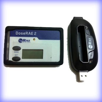 簡単操作で高性能 デジタル 個人線量計 ガイガーカウンター DoseRAE2 PRM-1200