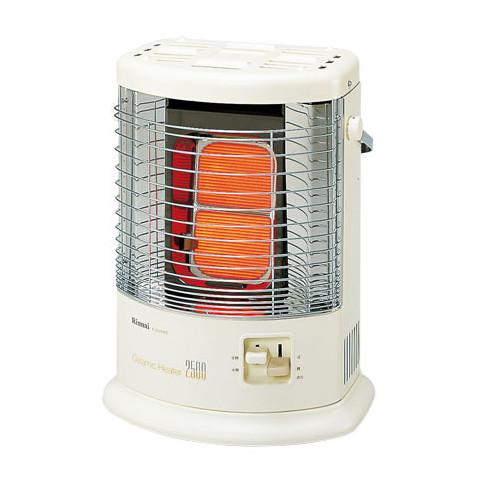 【販売終了】リンナイ ガス赤外線ストーブ R-652PMSIII(A) 13A【ガスコードは別売です】