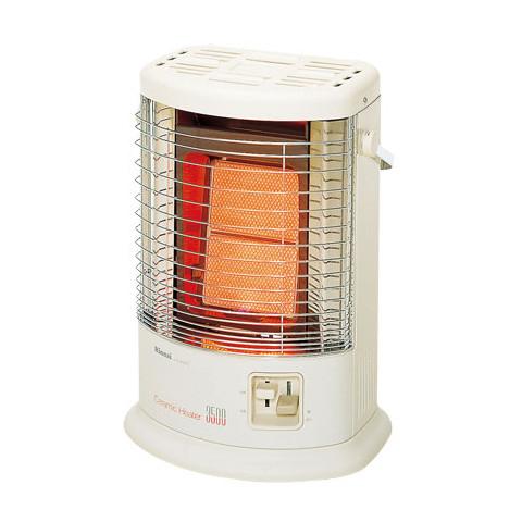 【販売終了】リンナイ ガス赤外線ストーブ R-852PMSIII(A) 都市ガス13A用【ガスコードは別売です】