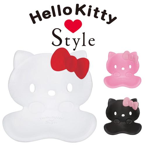 【代引き手数料無料】 Style Hello Kitty スタイルハローキティ ボディメイクシート スタイル MTG正規販売店 姿勢サポートシート 座椅子 キティちゃん BSHK2041F【送料無料】