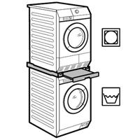 AEG Electrolux T86280IC用オプション品 スタッキングキット SKP11