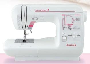 [5年保証][40色糸セット他おまけ付] シンガー  スクールメイト SM10  直線縫い専用電子ミシン(スクールミシン)