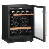 【開梱設置付き】ユーロカーブ ワインセラー  コンパクト59シリーズ ガラスドア  V059T-PTHF 収納本数:53本