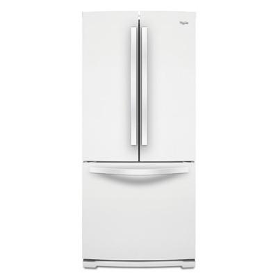 【メーカー在庫限り】ワールプール/Whirlpool アメリカ大型冷蔵庫(冷凍冷蔵庫) 両開き WRF560SMYW ホワイト