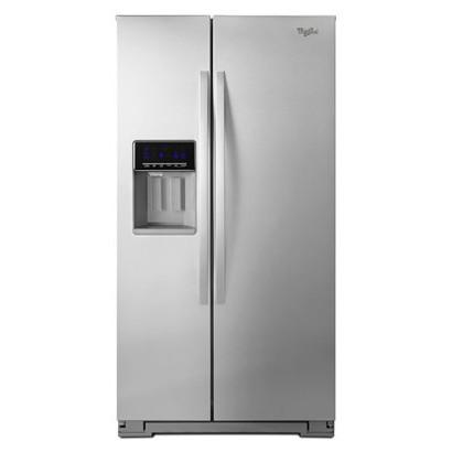 【販売終了】ワールプール/Whirlpool アメリカ大型冷蔵庫(冷凍冷蔵庫) 両開き WRS576FIDM ステンレス