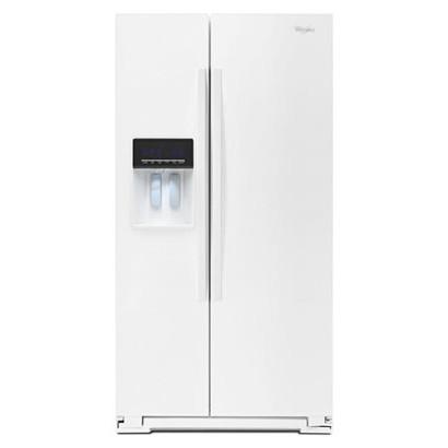 【販売終了】ワールプール/Whirlpool アメリカ大型冷蔵庫(冷凍冷蔵庫) 両開き WRS576FIDW ホワイト