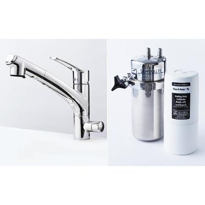 シーガルフォー浄水器  ビルトインタイプ X1-KA1402-FPb
