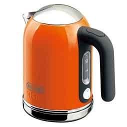 デロンギ 電気ケトル ケーミックス ブティック  SJM010J-OR オレンジ