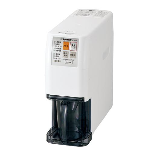 【代引き手数料無料】象印 家庭用無洗米精米機 つきたて風味 BT-AG05-WA ホワイト